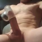 Men Masturbating with Masturbators